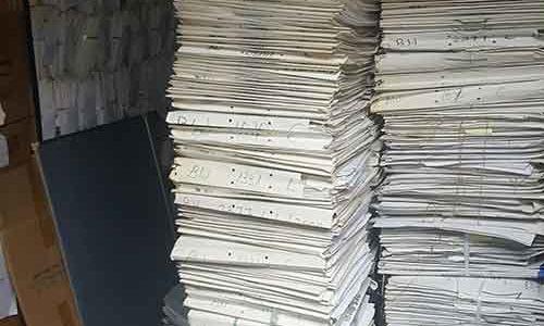 協助上環律師事務所將多年存儲的機密文件銷毀處理