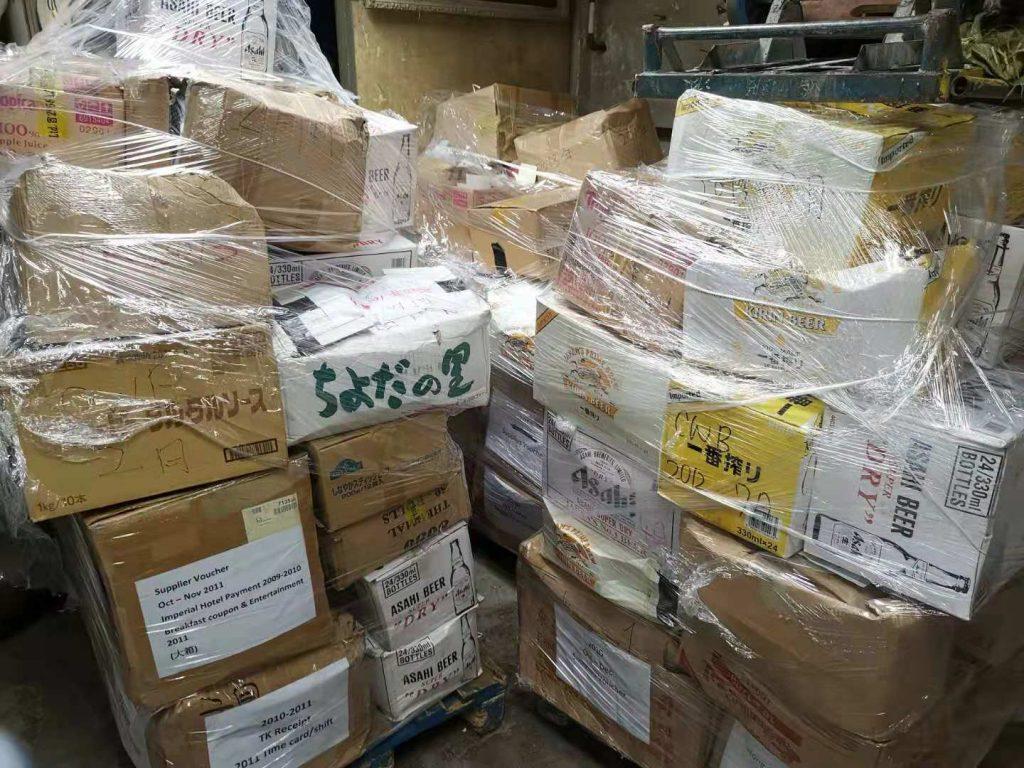 日本企業銷毀公司機密文件